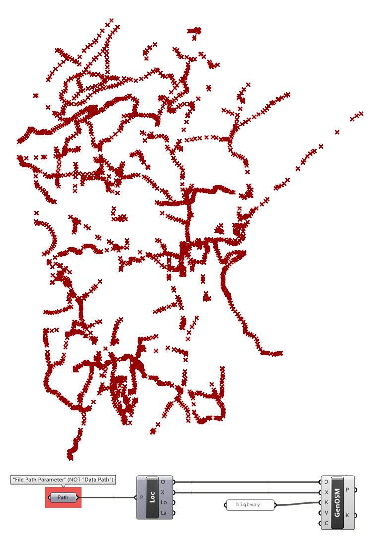 2D Site Model from Open Street Maps – Example 20 1
