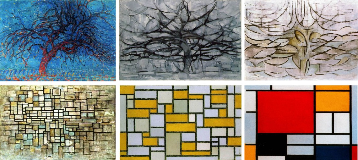 Image result for mondrian tree