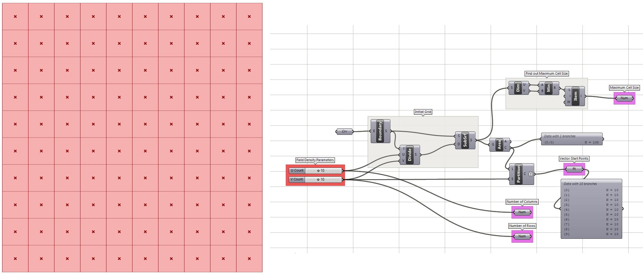 Vector Field with Progressive Random Noise – Example 6 5